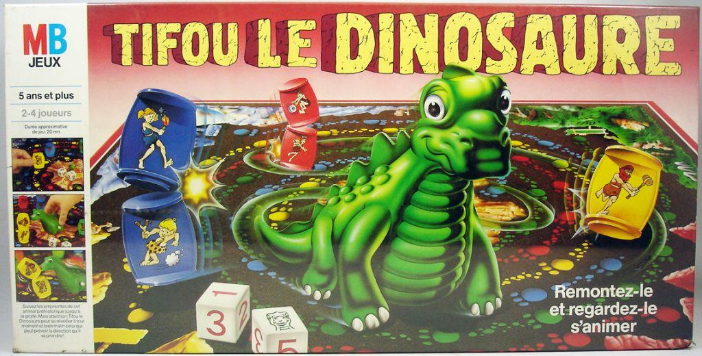 Jeux de société dinosaure